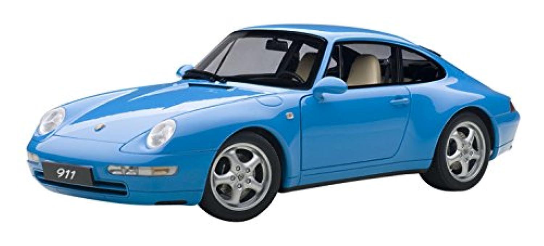 AUTOart 1/18 ポルシェ 911 (993)カレラ 1995 (ブルー) 完成品