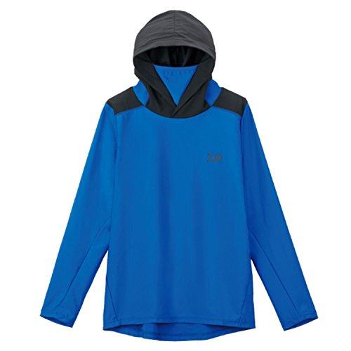 ダイワ ロングスリーブ フーディーラッシュガードシャツ DE-6207 ブルー L