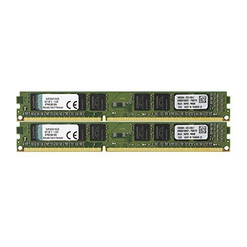 Kingston デスクトップPC用 メモリ DDR3L 1600 (PC3L-12800) 4GBx2枚 CL11 1.35V Non-ECC DIMM 240pin KVR16LN11K2/8 永久保証
