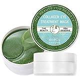 保湿&ダークサークルの削減のためのアイトリートメントマスクコラーゲンアイマスク海藻ゲルコラーゲンアイパッチの下のアイジェルパッド