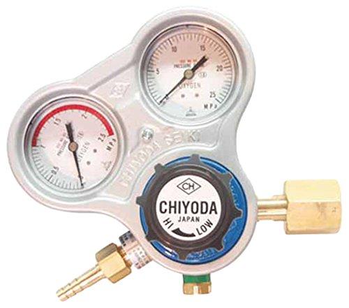 千代田 酸素用調整器スタウト(関東式)乾式安全器内蔵型 SROAE