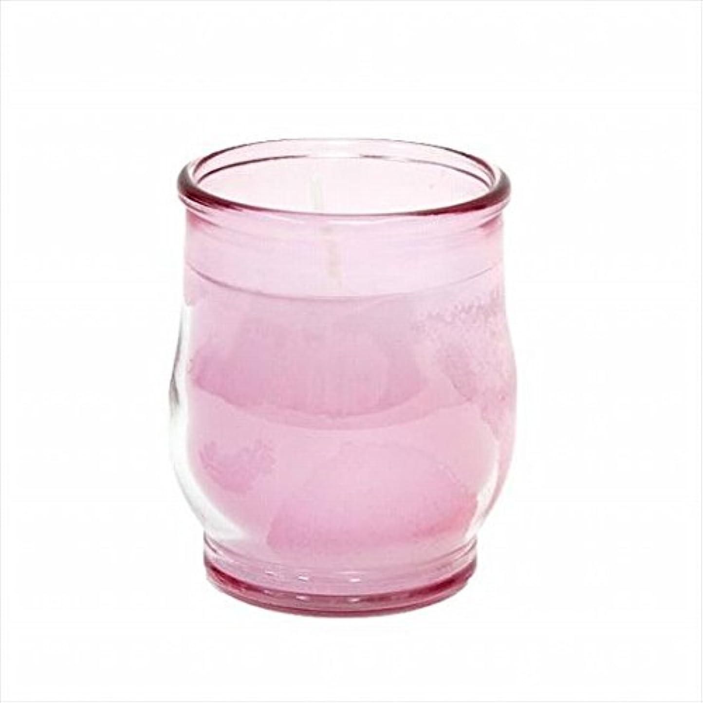 トレーダーハンディキャップ透明にkameyama candle(カメヤマキャンドル) ポシェ(非常用コップローソク) 「 ピンク(ライトカラー) 」 キャンドル 68x68x80mm (73020030P)