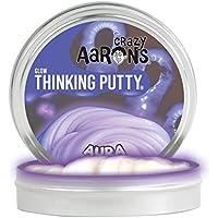 【 蓄光タイプ シリコン製パティ 】 Crazy Aaron's Putty World シンキングパティ グローインザダーク シリーズ EU安全規格適合 内容量13g ミニサイズ Made in USA 日本正規代理店品【 オーラ 】 AU003