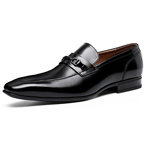 [ロムリゲン] Romlegen ビジネスシューズ 本革 メンズ Uチップ 紳士靴 フォーマル 革靴 ロム6710 黒 25.5cm ブラック