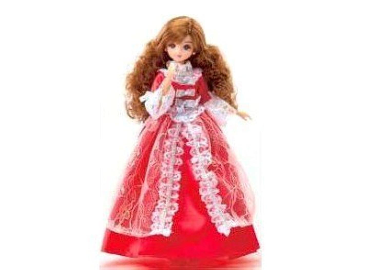 【リカちゃん】 ロングドレス プリンセス(レッド) タカラトミー