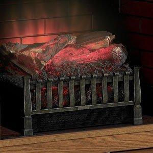木枠のつくりがリアルな電気暖炉 Duraflameエレクトリックウッドログ木...