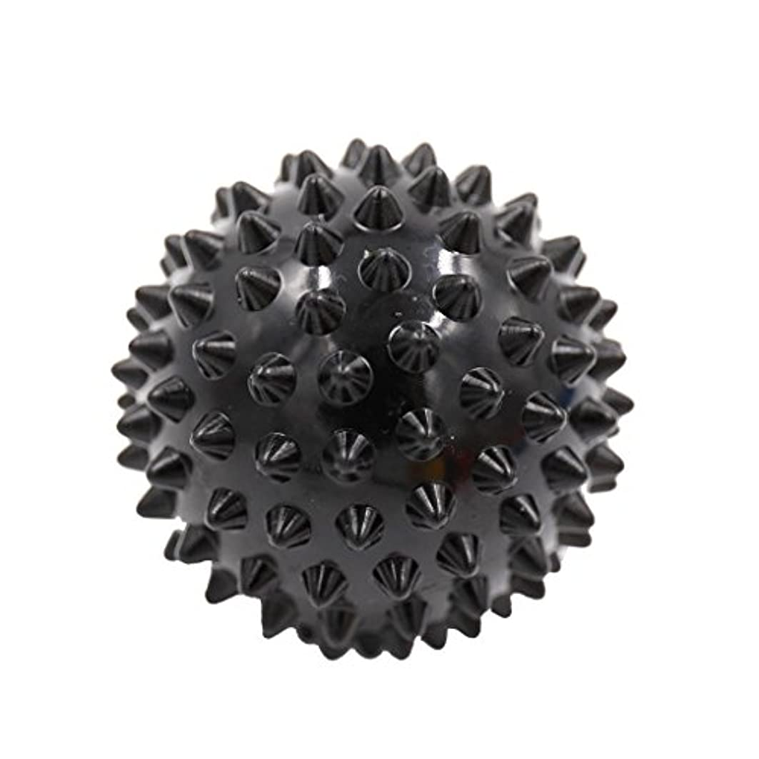 ギター難民ネイティブマッサージボール マッサージ器 ボディ スパイク マッサージ 刺激ボール 3色選べ - ブラック, 説明したように