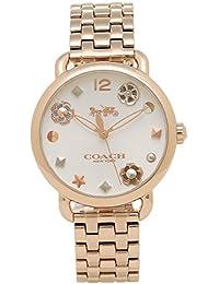 コーチ 時計 COACH 14502811 DELANCEY デランシーウィズ チャーム レディース腕時計ウォッチ イエローゴールド [並行輸入品]