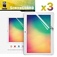 TabSuit 10.1インチ K10 スクリーンプロテクター 超透明 高解像度 (HD)-3パック Dragon Touch K10 10.1インチタブレット用