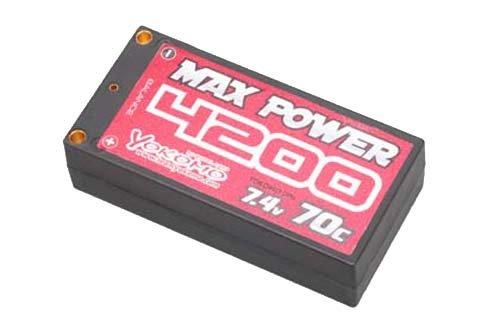 ヨコモ 2WDオフロード用 Li-po 4200mAh/7.4Vショートサイズ バッテリー