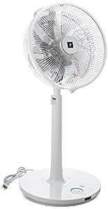シャープ プラズマクラスター扇風機 空気浄化・消臭 ハイポジョンタイプ リモコン付き ホワイト PJ-G3DS-W
