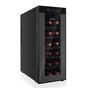 BESTEK ワインセラー 12本収納 ペルチェ静音式 BTWC035H