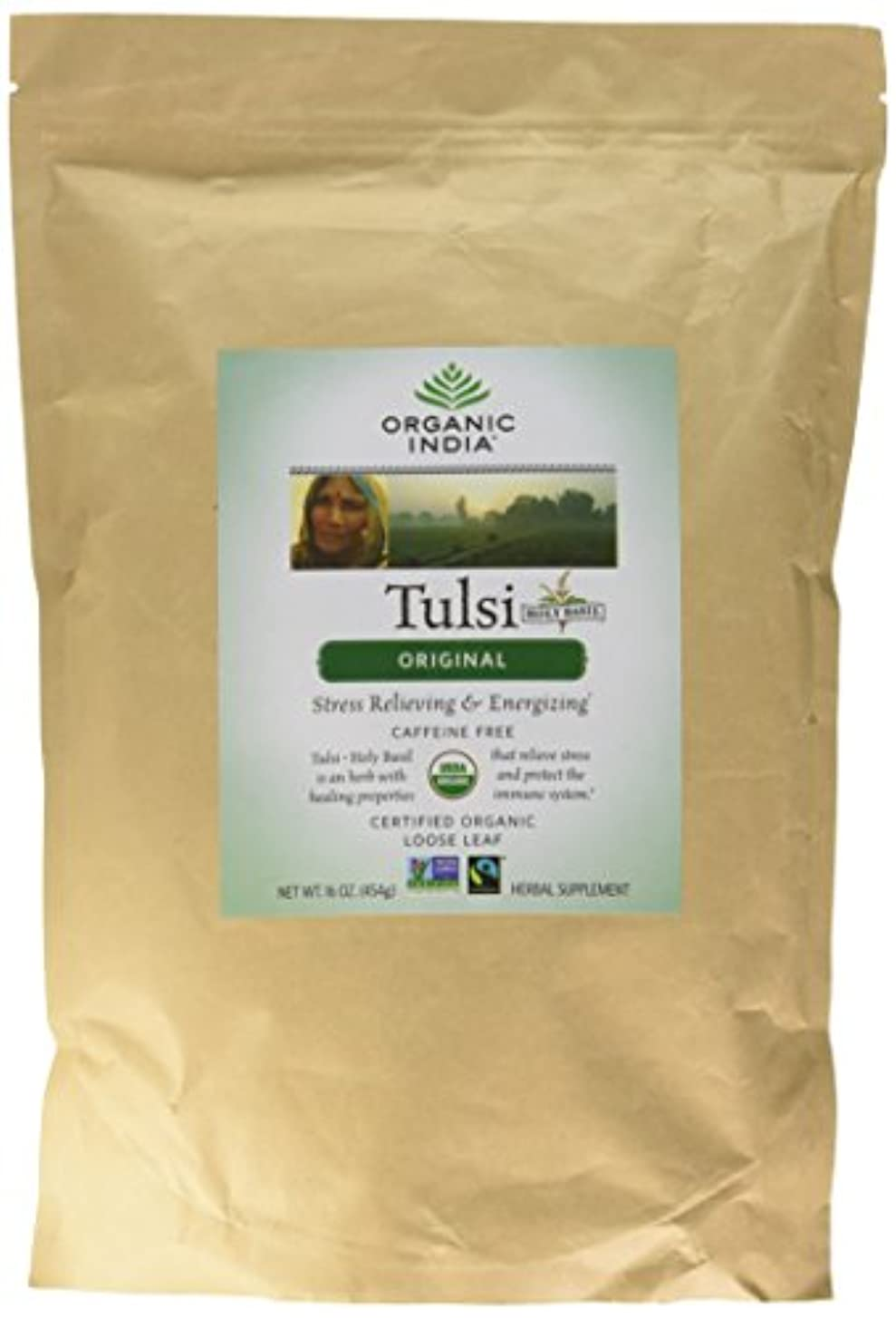 ディスク交換ほこりっぽい海外直送品Original Tulsi Tea, 1 lb by Organic India