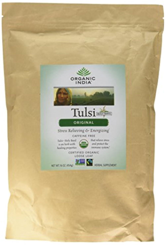 お酢神学校地球海外直送品Original Tulsi Tea, 1 lb by Organic India
