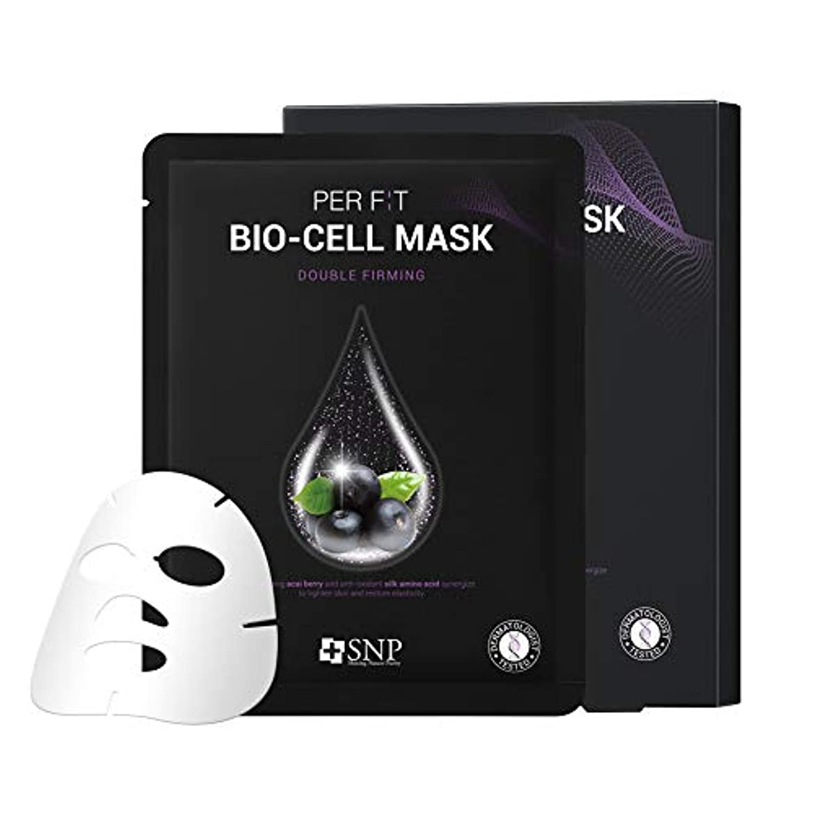 多様体韻警報【SNP公式】パーフィット バイオセルマスク ダブルファーミング 5枚セット / PER F:T BIO-CELL MASK DOUBLE FIRMING 韓国パック 韓国コスメ パック マスクパック シートマスク