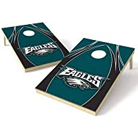 Wild Sports NFL Philadelphia Eagles 2' x 3' V Logo Cornhole Game Set [並行輸入品]