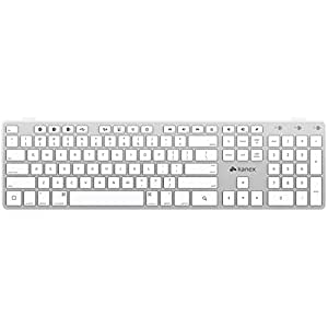 Kanex Multi-Sync Bluetooth Keyboard for Mac, Windows, iPhone, iPad, AppleTV(2Gen, 3Gen ), Android, プレイステーション3