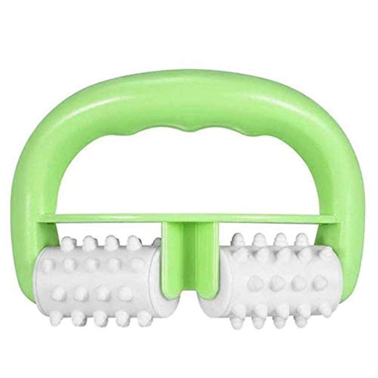 しっかり腸飢えたローラーマッサージャー - マニュアルローラーマッサージャー/マッサージ?完璧な体験を提供します。緑