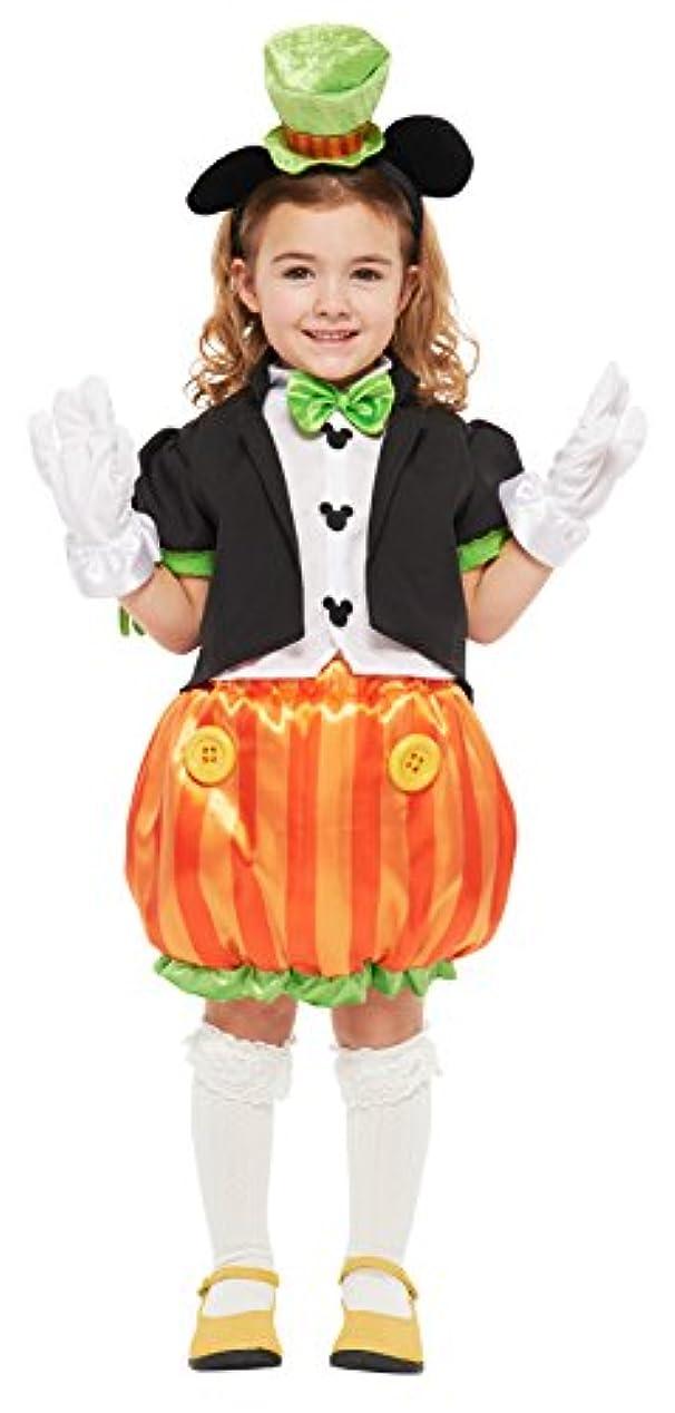 現代優れた操縦するディズニー パンプキンミッキー キッズコスチューム 女の子 対応身長100cm-120cm