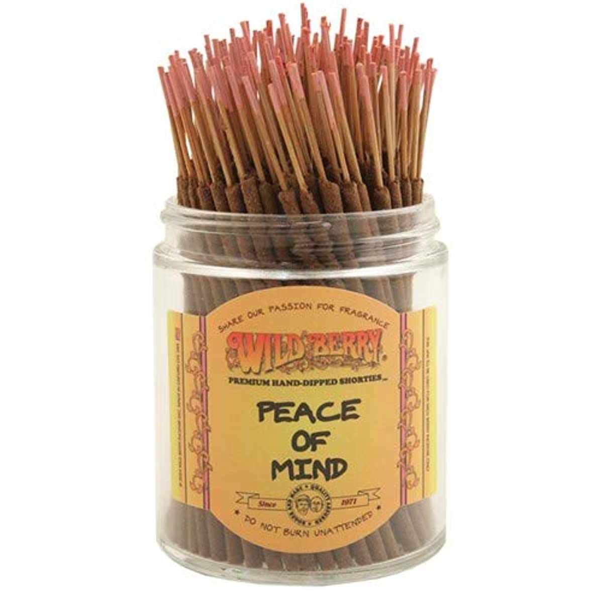 スロー説明やる心の平和 – Wild Berry Shorties Incense Sticks – 100