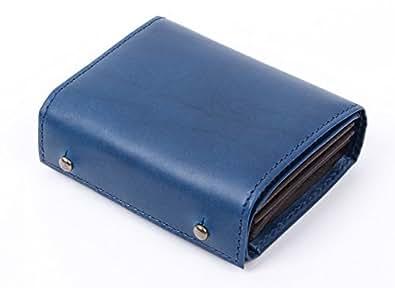 [エムピウ]m+ 折り財布 millefoglie 2 P30 MF2p30 blue