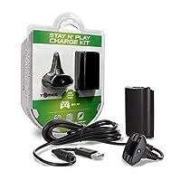 Xbox 360 Hyperkin Charge Kit - Black (輸入版)