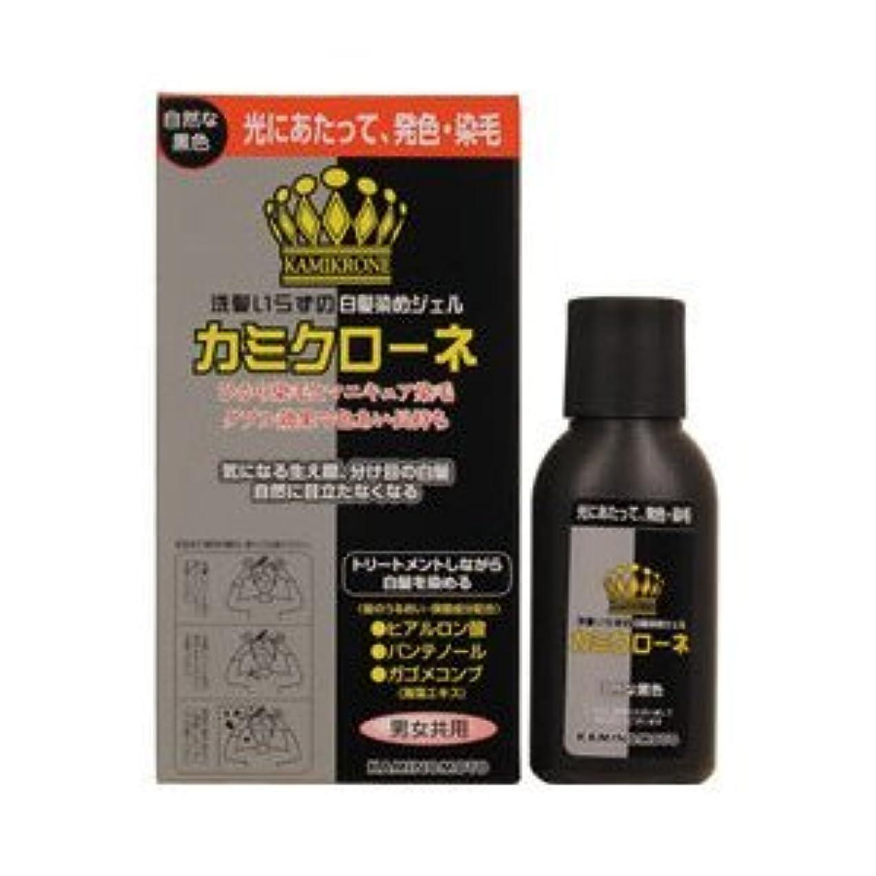 ハンカチヒロイン契約するカミクローネ ナチュラルブラック × 10個セット