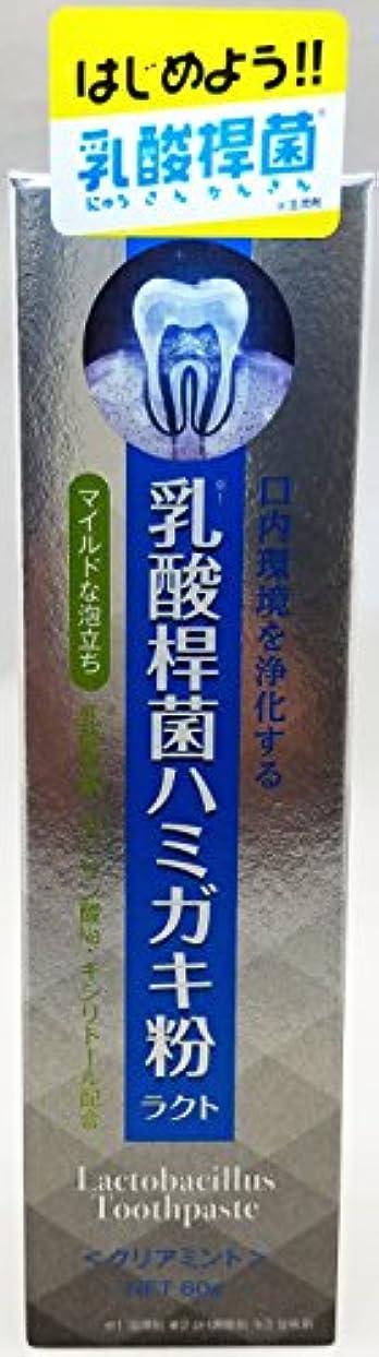 自由レキシコンピッチアイ?プロダクツ 乳酸桿菌ハミガキ粉ラクト 発泡剤あり 80g