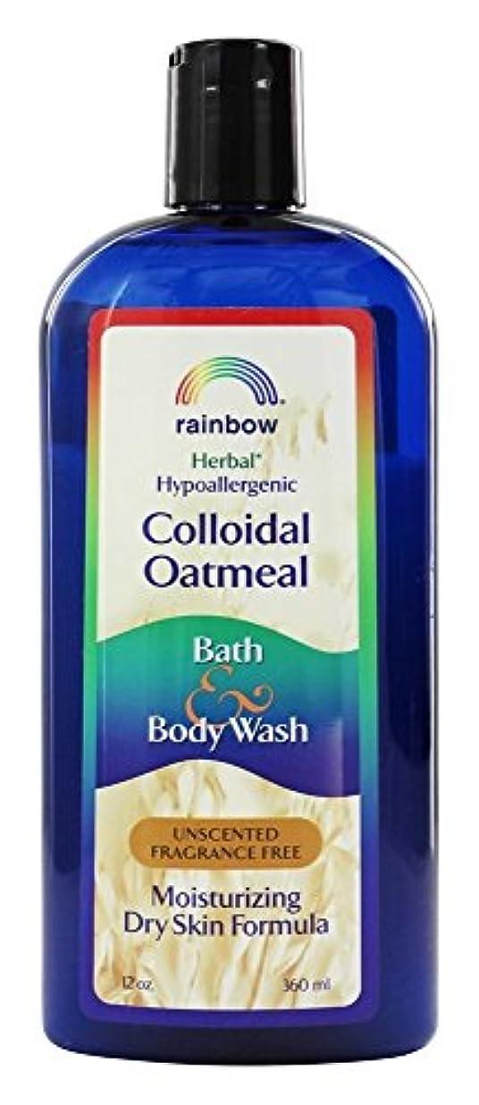 スリット情熱戻すRainbow Research - コロイド オートミール風呂と無香料ボディソープ - 12ポンド [並行輸入品]