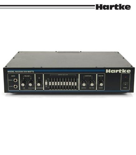Hartke ( ハートキー ) HA3500 350Wベースアンプヘッド 10バンドグラフィックイコライザー コンプレッサー搭載