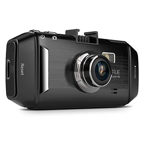 ドライブレコーダー VANTRUE R2-2K 1296P HD WDR 2.7インチLCD 170度広視野角 常時録画 夜間撮影可能 駐車監視動体検知 Gセンサー HDMI出力 ドラレコ(32GBのメモリーカード付かない)シルバー