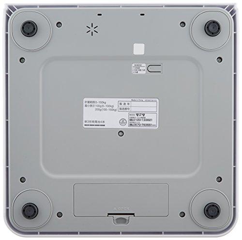 タニタ 体重計 デジタルヘルスメーター HD-395-WH ホワイト