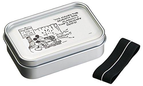 アルミ 弁当箱 870ml 大容量 ランチボックス パッキン付き ミッキーマウス ディズニー ALD9