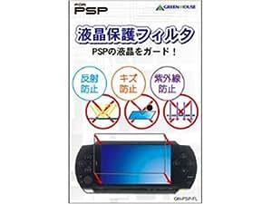 GREEN HOUSE PSP用 液晶保護フィルタ GH-PSP-FL