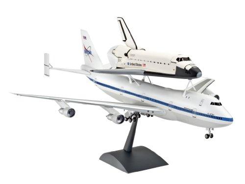 ドイツレベル 04863 1/144 ボーイング747TM SCA &スペースシャトル