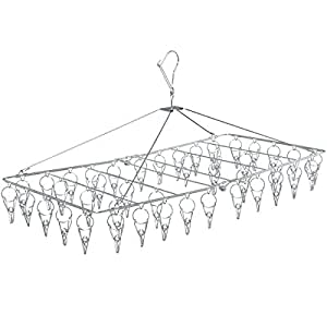 アイリスオーヤマ ピンチハンガー 洗濯 物干し ステンレス 42ピンチ PIH-42S