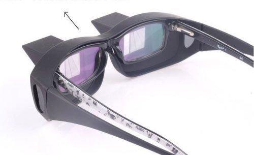 Mistral 寝ながら読書ができる! プリズム眼鏡 寝たままメガネ Mistral オリジナル メガネクロス セット