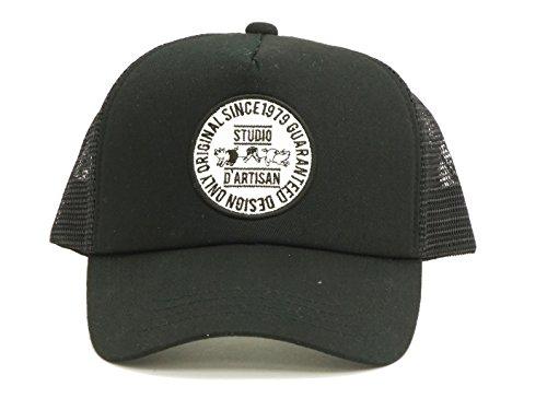 (ステュディオ・ダ・ルチザン) STUDIO D'ARTISAN メッシュキャップ 7433 メンズ 帽子 ブラック (メンズフリーサイズ)