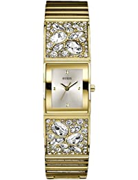 Guess w0002l2 Ladies Crushed Ice Gold Watch