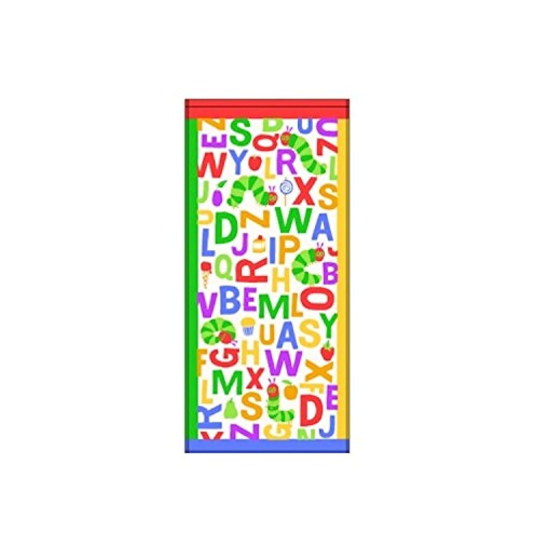 【はらぺこあおむし】フェイスタオル/2枚組(タイポグラフィ) 411681