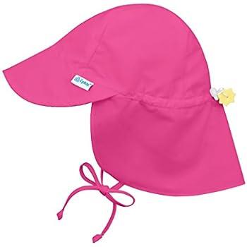 I play(アイプレイ) 帽子 フラップサンハット UVカット あごひも付 ベビー キッズ 帽子 ホットピンク INFANT:9-18ヵ月 737101-209-52