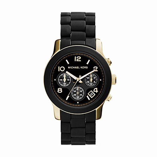 Quartz, Black Dial with Black Goldtone Bracelet - Womens Watch MK5191 マイケル コース
