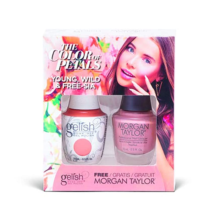 堀むしゃむしゃ多分Harmony Gelish - Two Of A Kind - The Color Of Petals - Young, Wild & Free-sia - 15 mL / 0.5 Oz