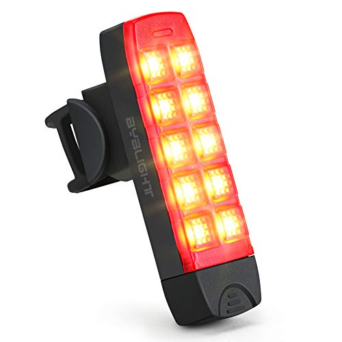 BYBLIGHT テールライト 自転車 usb充電式 ロードバイクリアライト 防水 点灯 点滅 6つのモード 120ルーメン クリップ式 テールランプ 夜間走行を安全に 尾灯 高輝度 ledセーフティーライト