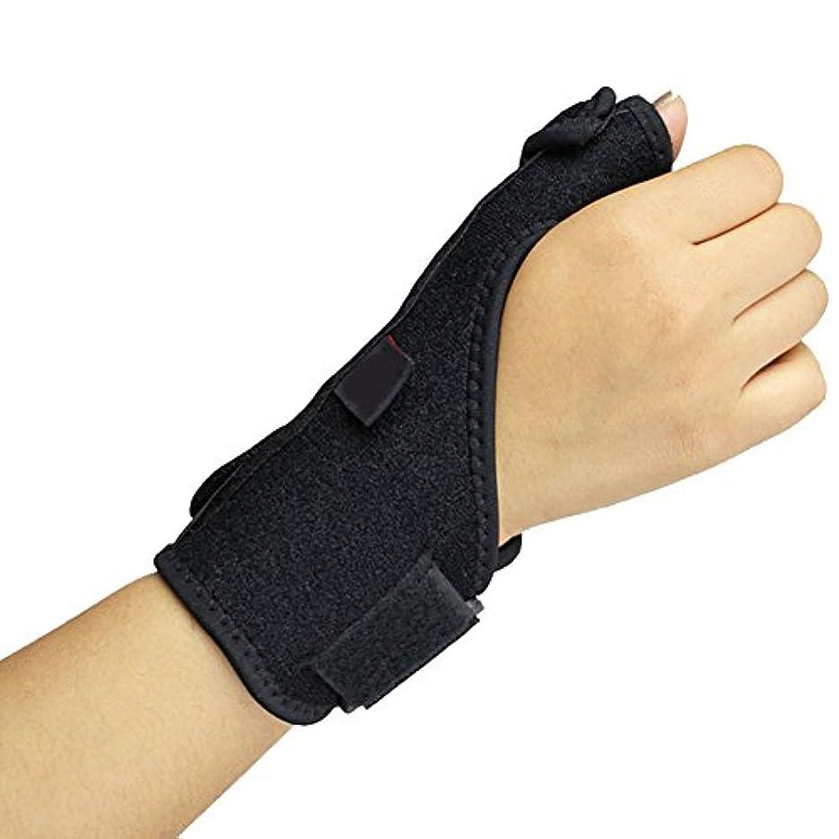 記憶ハチ居眠りする(ナイス ディズ)Nice Days  親指のサポーター&シースを支持するばね鋼ストリップ&腱鞘炎、捻挫、骨折保護ブレース