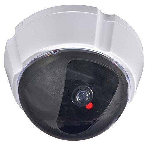 防犯・監視カメラ ホワイト 外形寸法 約 :直径10.2×厚さ7cm