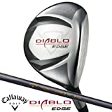 【2010年モデル】キャロウェイ ゴルフ ディアブロ エッジ ブラック (DIABLO EDGE Black) フェアウェイウッド オリジナル カーボン 18/R