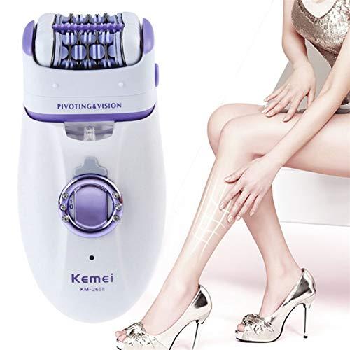 胸元のビキニの脚のための1 2女性の毛のリムーバー電気毛のトリマーレディー除去脱毛器女性のボディケア...