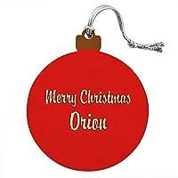クリスマスオリオンウッドクリスマスオーナメント