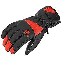 サロモン(SALOMON) スキーグローブ FORCE M Black/FIERY RED (フォース) L40421100 M